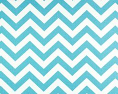 Zigzag Girly Blue/Twill