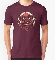 """Deadpug"" T-Shirts & Hoodies by luisgarcia10   Redbubble"