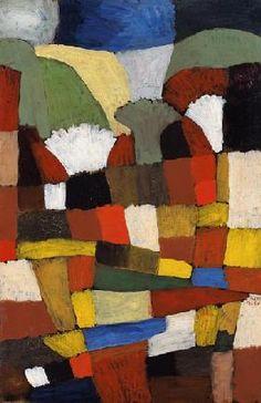 Paul Klee - Garten in P.H.
