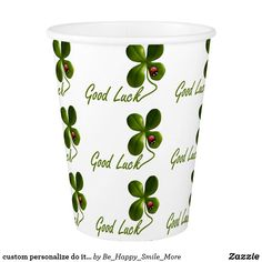 custom personalize do it yourself project home paper cup