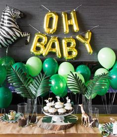 Cute safari babyshower 🐾