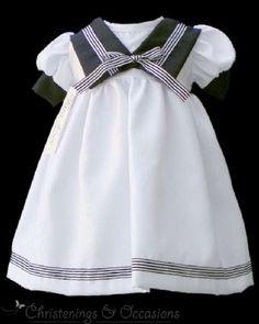 Resultado de imagen de vestido marinero niña