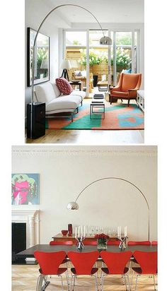 Best #ArcoLampReplica from #ManhattanHomeDesign; our arched floor lamp is an arco floor lamp replica.