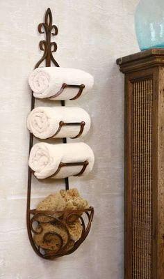 wall mounted towel racks
