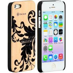 iPhone 5 Wood Case Filigree