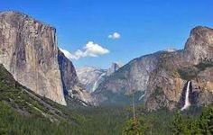 Image result for yosemite half dome mountain range from wawona tunnel