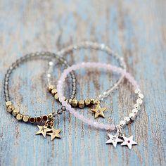 Glittery Swarovski Star Stretch Bracelet                                                                                                                                                                                 More