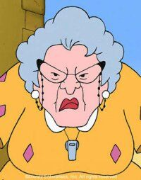 Muriel P. Finster is a frequent antagonist of the main crew of child protagnists in the Disney cartoon series Recess Classic Cartoons, Cool Cartoons, Disney Cartoons, 1990s Cartoons, Recess Cartoon, Cartoon Kids, 90s Childhood, Childhood Memories, Favorite Cartoon Character