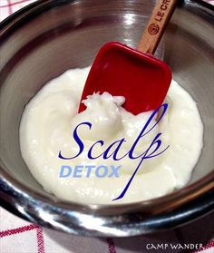Deep Scalp Cleanse with Essential Oils & Coconut Oil