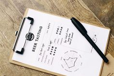 The Perfect Pint restaurant and bar branding