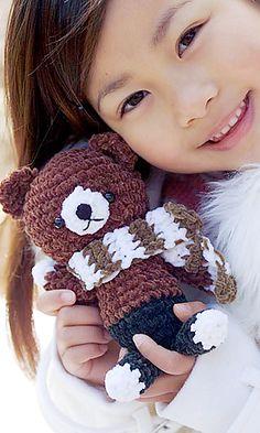 Ravelry: Teddy Bear pattern by Pierrot - free pattern