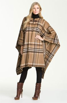 MICHAEL Michael Kors Buckled Blanket Coat available at #Nordstrom