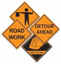 Construction Sign Cutouts