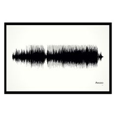 """Amazed - 11x17 Framed Soundwave print. Lonestar inspired Soundwave print. Framed and ready-to-hang. 11"""" x 17"""" black wood frame. Limited quantity is hand-numbered by the artist. One of only 50 ever printed. American made. Three Nashville songwriters teamed up to write this song, and it was by far the biggest hit for each. Two of the writers, Chris Lindsey and Aimee Mayo, are a married couple, and the third, Marv Green, is their friend and songwriting partner. When they wrote the song…"""