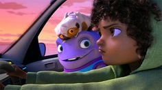 Let's watch the official full-length trailer of Home, the upcoming animated movie directed by Tim Johnson for Dreamworks Animation: