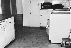 The kitchen in the Clutter family home (c.1959)