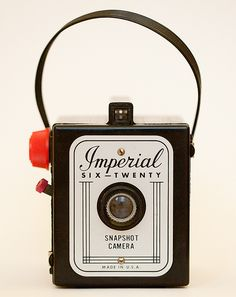 Ain't She Cute | by bomobob Imperial Six-Twenty Snapshot Camera - American Made