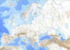 Mapas de Europa para imprimir | laclasedeptdemontse Geography Map, Diagram, World, Artwork, Gabriel, Europe, Play, Google, Maps