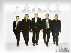 Celtic Thunder (Damian McGinty, Keith Harkin, George Donaldson, Paul Byrom, Ryan Kelly) WOW Look how young they are!<<can't you see an explosion going off behind them? Irish Boys, Irish Men, Ryan Kelly, Celtic Music, Celtic Thunder, People Of Interest, Boy Bands, Man Band, Make Me Smile