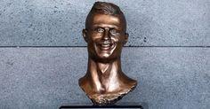 Busto de Cristiano Ronaldo...