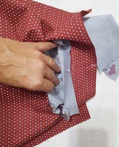 Acompanhe o passo à passo de como fazer uma bolsa grande de tecido.