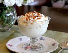 Aunt Rosalie's Famous Rice Pudding-How to make homemade Rice Pudding