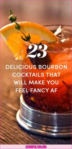 There's only one way to celebrate Kentucky Derby. And that's with a great bourbon cocktail! Take a sip of one of these and you'll wish this two-minute race happened all year-round. Cocktails 10 Bourbon Cocktails You Need to Serve at Your Next Party Bourbon Cocktails, Whiskey Cocktails, Bourbon Whiskey, Whisky, Tennessee Whiskey, Drinks With Bourbon, Alcoholic Cocktails, Scotch Whiskey, Cocktail Menu