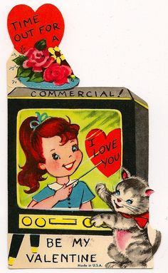 Vintage Valentine-so cute