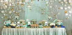 mint and gold candy bar