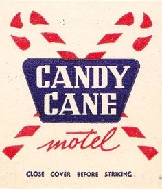 Candy Cane Motel Anaheim by hmdavid, via Flickr