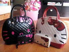 Hello kitty purses with matching wallets