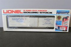 New? Lionel 6-5701 Dairymen's Weathered League Reefer