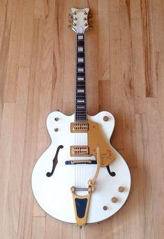 1987 Greco Super Real WF 140 White Falcon Nitro Lacquer Lawsuit Guitar Japan | eBay