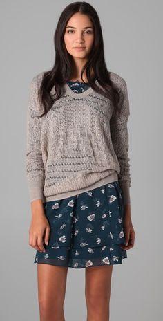 Yes, please - dress + cardigan