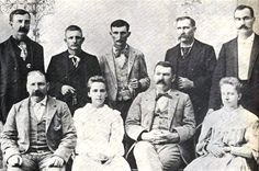 Some of the lawmen of the Western District of Arkansas; William Grimes, U. and the Hitchcock girls. a jailer; Proctor of El Reno; Tillman Dilly and Warren Cleaver, chief clerk. Ramones, Wild West Outlaws, Fort Smith Arkansas, Wild West Cowboys, American Frontier, Before Us, Old West, Ghost Towns, History
