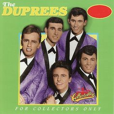 """The Duprees A 1960's doo wop singing group founded in Jersey City, New Jersey.  """"You Belong To Me"""" was their biggest hit song."""