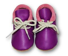 mokasynki FIOLET Leather Baby Shoes Moccassins Purple https://fiorino.eu/