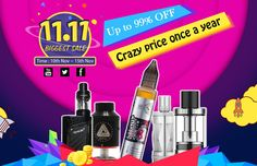 Biggest Sale, from Gearbest Vape, 11 11 Sale, Crazy Price, Electronic Cigarette, Big, Html, Smoke, Rocket Launch, Vaping Mods