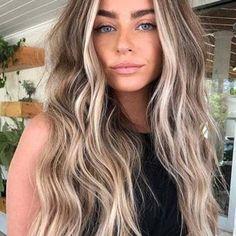 Bayalage, Balayage Color Castaño, Bronde Hair, Platinum Blonde Balayage, Blonde Balayage Highlights, Brown Balayage, Sandy Blonde, Bright Blonde, Champagne Blonde