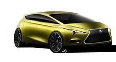 Lexus Mpv Front