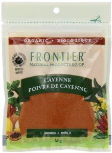 Frontier Natural Products Coop Bulk Cayenne, Cayenne Ground 30,000 Hu Organic Pouch, French/English, 32-Gram - http://www.handygrocery.com/grocery-gourmet-food/frontier-natural-products-coop-bulk-cayenne-cayenne-ground-30000-hu-organic-pouch-frenchenglish-32gram-ca/
