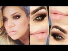 Makeup Khloe Kardashian - Maquiagem rápida com 1 sombra! #desafiomake1so...