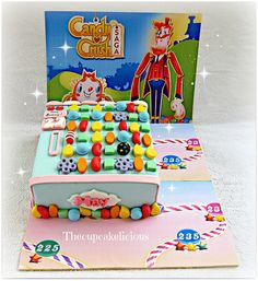 Candy Crush Saga #cake