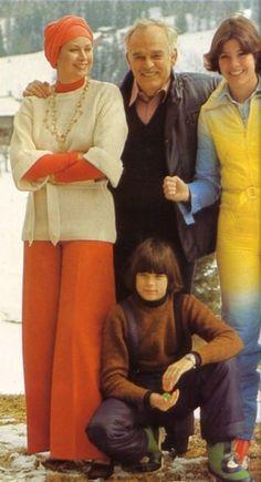 Grace, Rainier, Caroline and Stephanie                                                                                                                                                      Mais