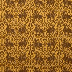 """Drooling heavily now... Silk Damask 12th c. Sicily, Brown Reference : 10-0020 """"This griffin motifed silk was originally woven for a vestment in 1181 in Sicily. Influence of Greece, Byzantium and Egypt can be seen in many sicilian textiles and despite a short islamic rule their decorative ideas have flavoured arts of Sicily including this pattern."""""""