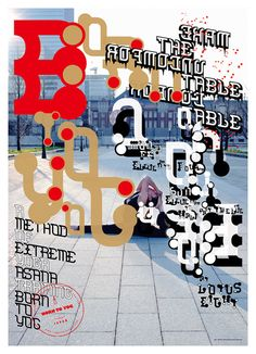 Tokyo Yoga Method Global Poster Campaign / BORN TO YOG / Kazuhiro Aihara (SHUNTO-SHA)
