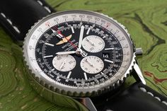 The Navitimer 1 is the most current version of one of the most recognized watches from Breitling. It uses the in-house Breitling 01 movement with a 70 power reserve. Breitling Navitimer, Slide Rule, Popular Watches, Watch This Space, Mechanical Watch, Luxury Watches, Wristwatches, Men's Fashion, Sport
