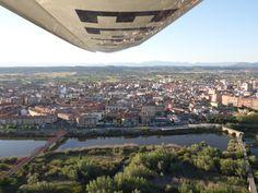 Talavera de la Reina (Toledo) - Río Tajo (Vista aérea)