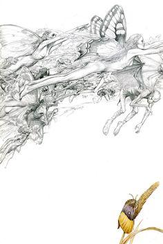 Faeries by Alan Lee Alan Lee, Brian Froud, Alchemy Art, Principles Of Art, Albrecht Durer, Fantasy Creatures, Mythical Creatures, Fantasy Illustration, Renaissance Art