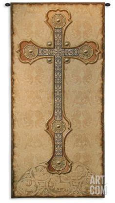 Antique Cross Wall Tapestry at Art.com